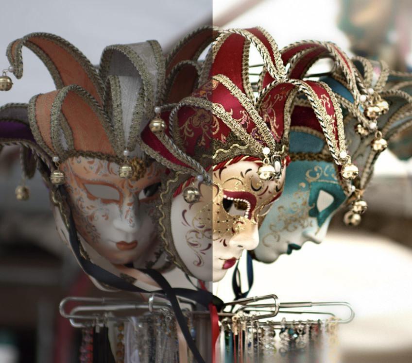maschere correzione colore